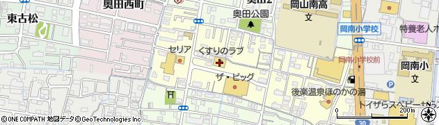 岡山県岡山市北区奥田南町周辺の地図
