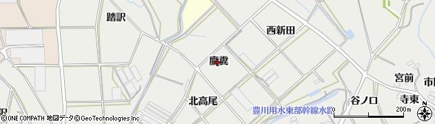 愛知県田原市南神戸町(鷹糞)周辺の地図