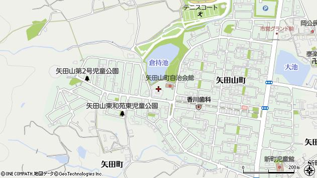 〒639-1055 奈良県大和郡山市矢田山町の地図