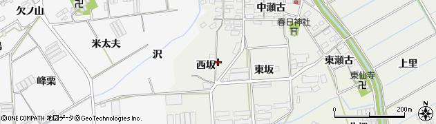愛知県田原市馬伏町周辺の地図