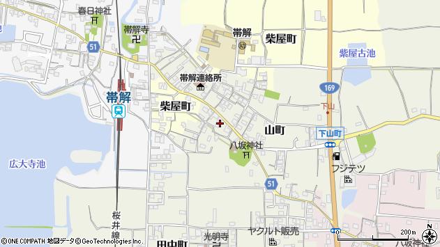 〒630-8434 奈良県奈良市山町の地図