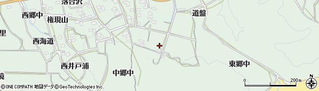 愛知県田原市六連町(東郷中)周辺の地図