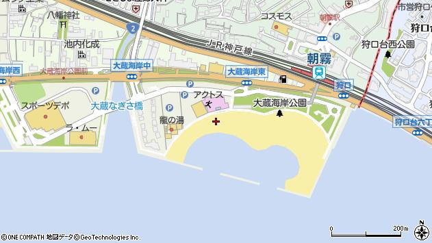〒673-0879 兵庫県明石市大蔵海岸通の地図
