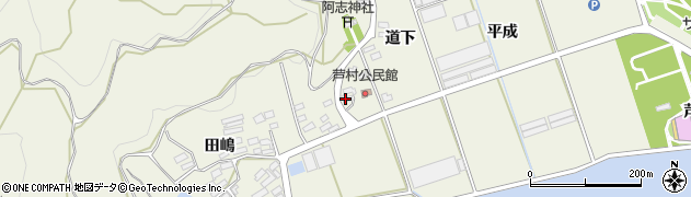 愛知県田原市芦町(柿ノ木)周辺の地図