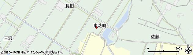 愛知県田原市大久保町(東芝崎)周辺の地図