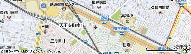 宣光寺周辺の地図