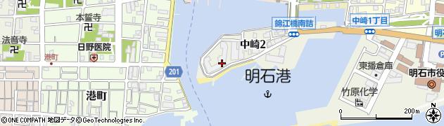 明石アーバンライフ周辺の地図