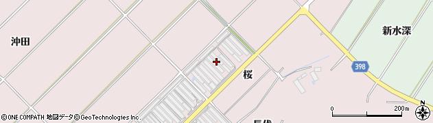 愛知県田原市野田町(八尻)周辺の地図