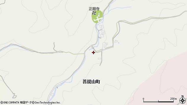 〒630-8413 奈良県奈良市菩提山町(その他)の地図