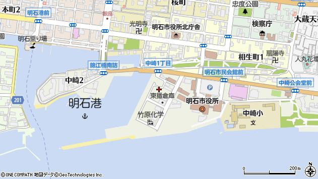 〒673-0883 兵庫県明石市中崎の地図