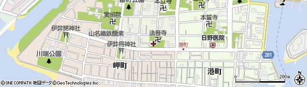 長久禅寺周辺の地図