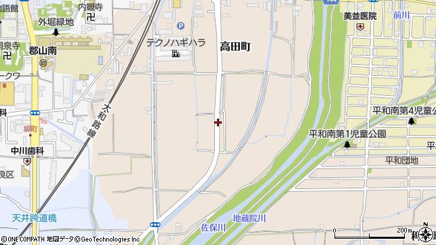 〒639-1132 奈良県大和郡山市高田町の地図