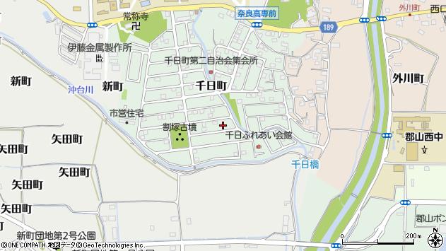 〒639-1053 奈良県大和郡山市千日町の地図