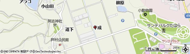 愛知県田原市芦町(平成)周辺の地図