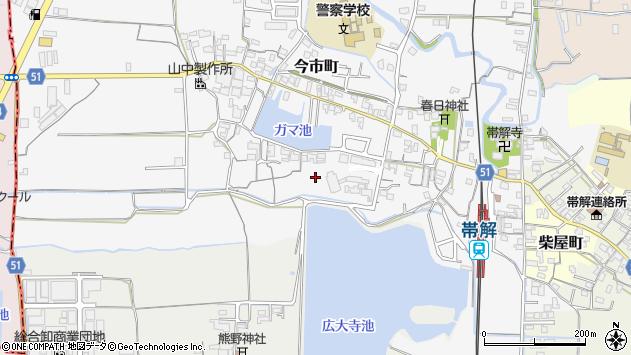 〒630-8444 奈良県奈良市今市町の地図