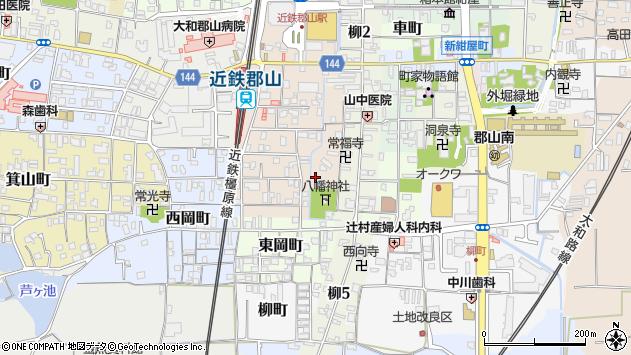 〒639-1138 奈良県大和郡山市大宮町の地図