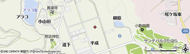 愛知県田原市芦町周辺の地図