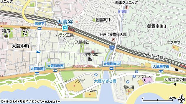〒673-0871 兵庫県明石市大蔵八幡町の地図