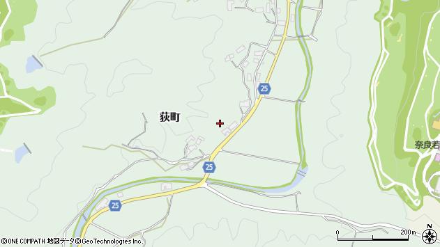 〒632-0103 奈良県奈良市荻町の地図