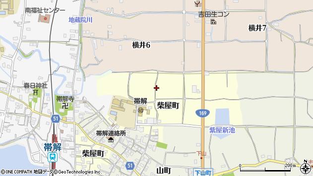 〒630-8433 奈良県奈良市柴屋町の地図