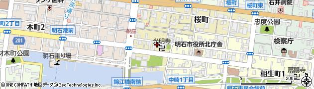 菊水ビジネスホテル周辺の地図