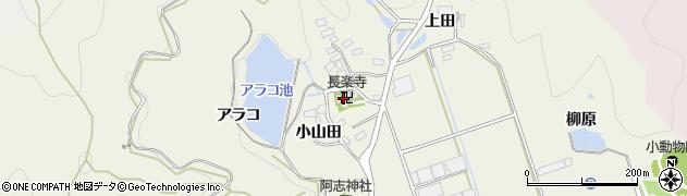 愛知県田原市芦町(小山田)周辺の地図