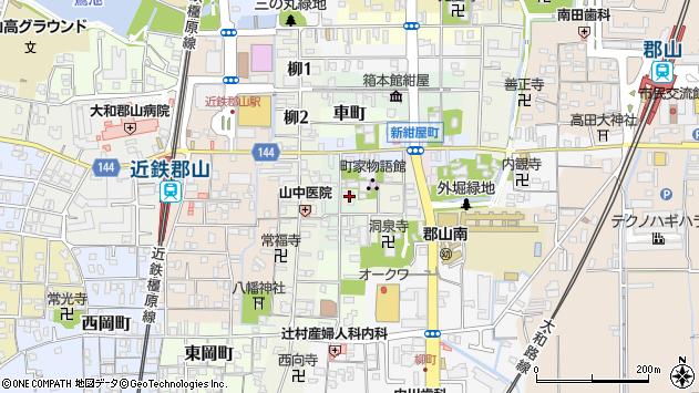 〒639-1146 奈良県大和郡山市北大工町の地図