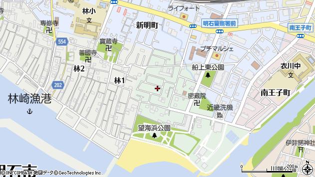 〒673-0026 兵庫県明石市船上町の地図
