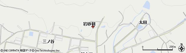 愛知県田原市江比間町(岩砂利)周辺の地図