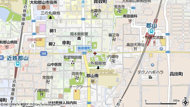 〒639-1142 奈良県大和郡山市矢田町通の地図