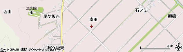 愛知県田原市野田町(南田)周辺の地図