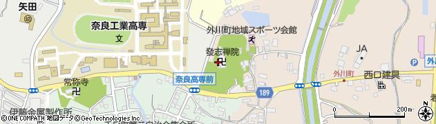 発志院周辺の地図