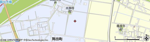 三重県松阪市舞出町周辺の地図