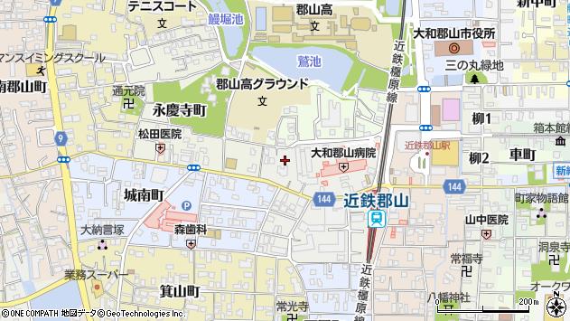 〒639-1013 奈良県大和郡山市朝日町の地図