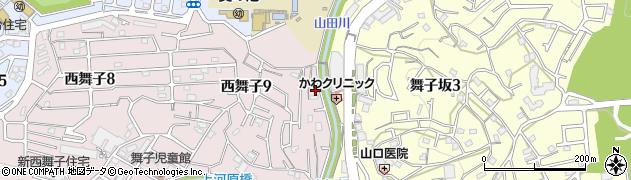 慈照寺周辺の地図