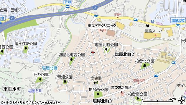 〒655-0863 兵庫県神戸市垂水区塩屋北町の地図