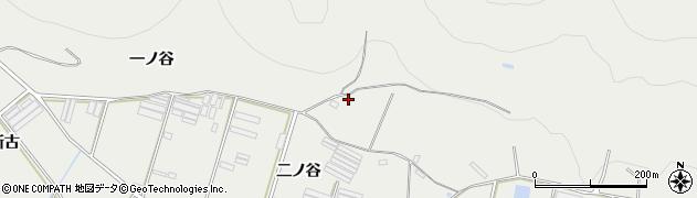 愛知県田原市江比間町(二ノ谷)周辺の地図