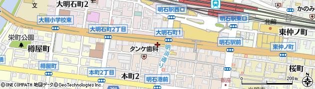 ライブハウス&レストラン POCHI周辺の地図
