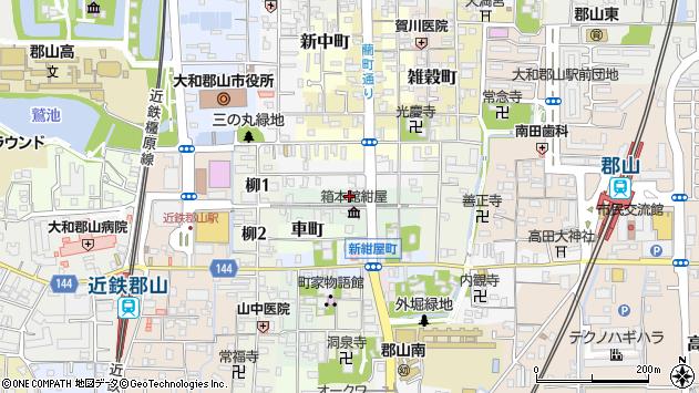 〒639-1148 奈良県大和郡山市紺屋町の地図