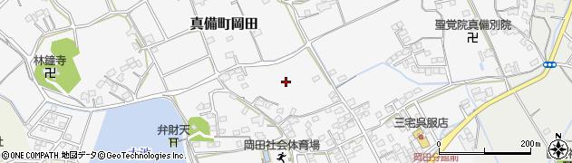 岡山県倉敷市真備町岡田周辺の地図