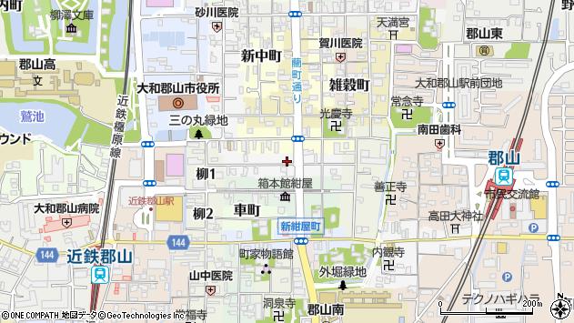 〒639-1149 奈良県大和郡山市豆腐町の地図