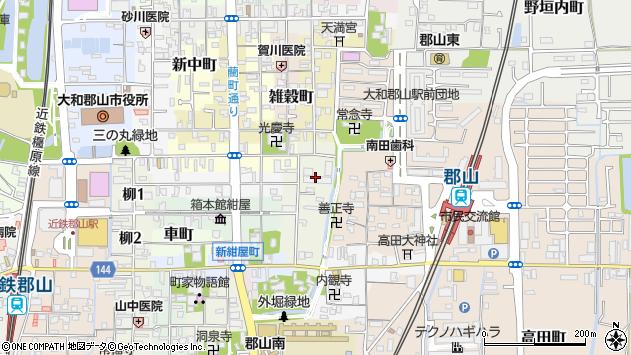 〒639-1141 奈良県大和郡山市材木町の地図
