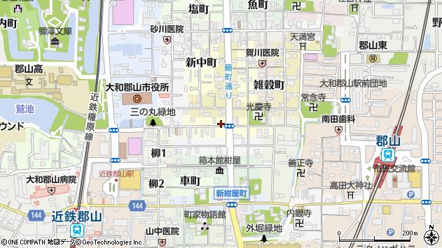 〒639-1155 奈良県大和郡山市今井町の地図