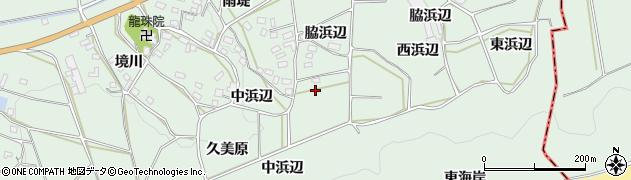 愛知県田原市六連町(久美原)周辺の地図