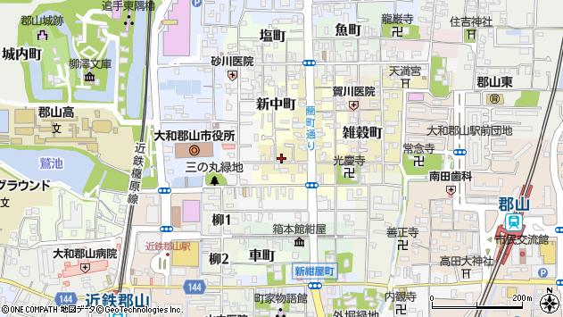 〒639-1154 奈良県大和郡山市綿町の地図