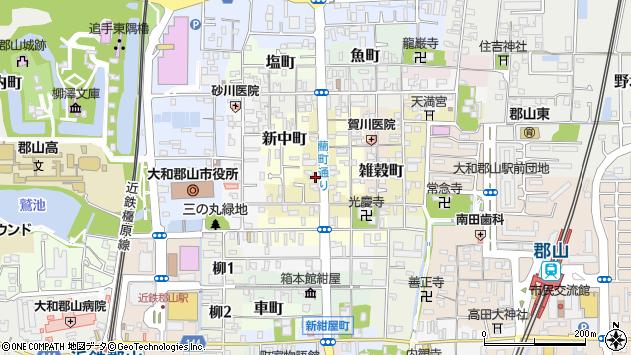 〒639-1158 奈良県大和郡山市藺町の地図