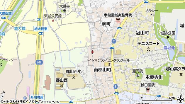 〒639-1007 奈良県大和郡山市南郡山町の地図