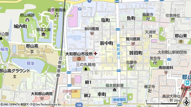〒639-1156 奈良県大和郡山市堺町の地図