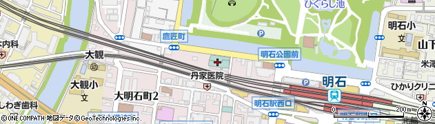 グリーンヒルホテル明石周辺の地図