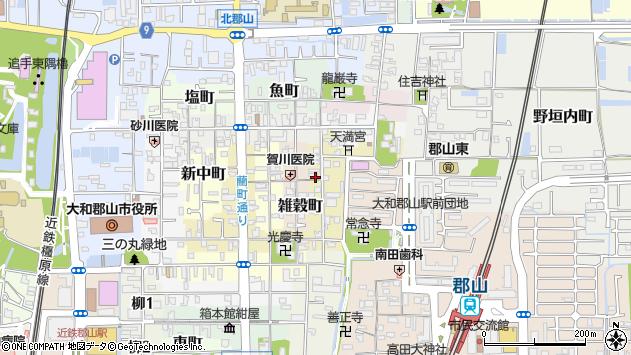 〒639-1152 奈良県大和郡山市茶町の地図